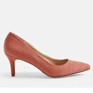 JustFab Rose/Pink Heels Size 9